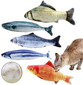 5 Catnip Fish Toys for Cat