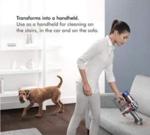 Animal pet handheld vacuum cleaner hoover Dyson V8