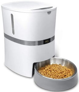 Automatic Cat Feeder with Metal Tray
