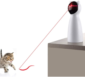 Automatic laser toy