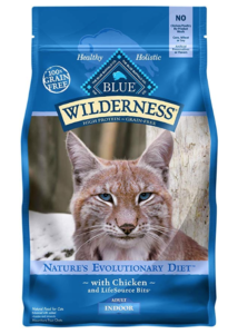 Blue Buffalo Cat Indoor Chicken Formula-Grain Free Dry Cat Food