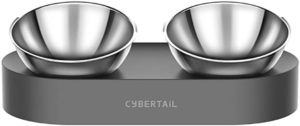Elevated Stainless Steel Cat Bowls