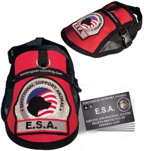 Emotional Support Dog ESA Mesh Vest