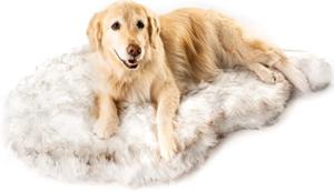 Faux Fur Memory Foam Orthopedic Dog Bed
