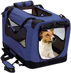 Foldable Dog Travel Crate