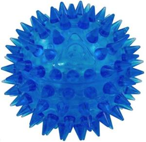 Gnawsome Spiky Squeaker Ball Dog Toy