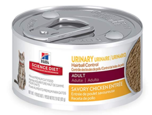 Hill's Science Diet Wet Cat Food, Adult, Urinary & Hairball Control