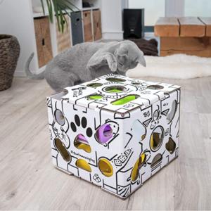 Interactive Treat Puzzle Cat Toy