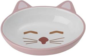 Kitty Stoneware Cat Bowl