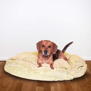 Microfiber Chenille Dog Bed