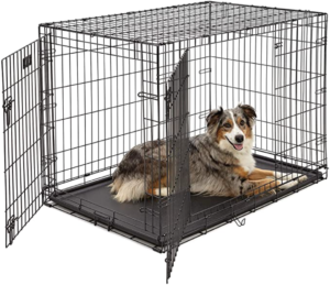 MidWest Homes for Pets - Folding Metal Dog Crate - 42 inch