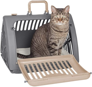 Plastic Collapsible Cat Carrier