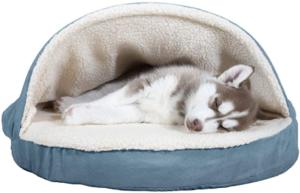 Plush Ergonomic Orthopedic Foam Mattress Dog Bed
