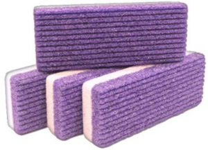 Pumice stone - for cleaning carpets from cat hair