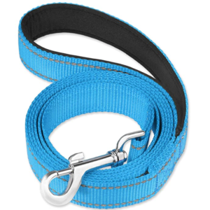 Reflective Dog Leash with Soft Padded Handle for Training and Walking