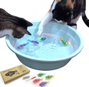 Swimming Robot Fish Toy for Cat