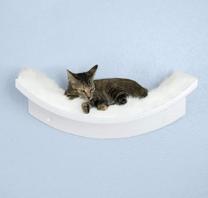 THE REFINED FELINE Lotus Leaf Cat Shelf
