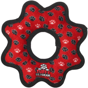 TUFFY soft dog toy with squeakers
