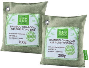 activated charcoal bamboo air purifying bags