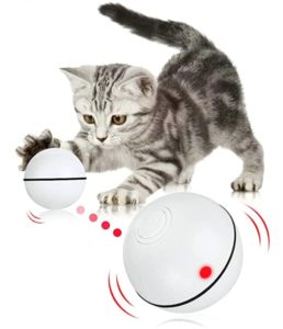 automatic cat toy ball