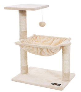 cat small tree scratching post
