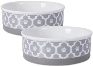 ceramic dog food bowls