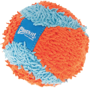 plush dog ball