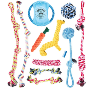 rope toys for puppies and dogs - US