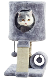 small cat tower