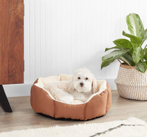 small dog bed - octagon
