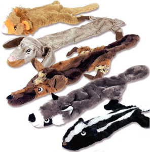 stuffing free dog toy